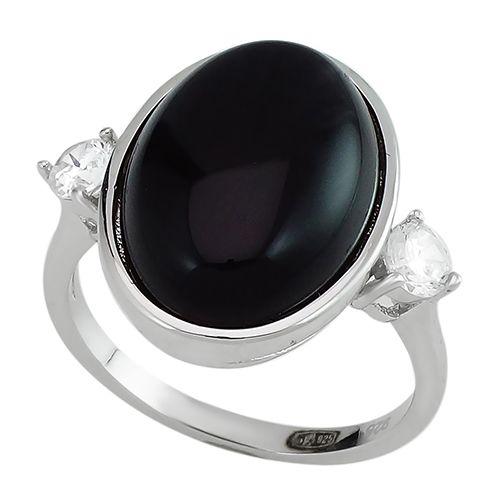 Серебряное кольцо с агатом – Mirserebra925.ru