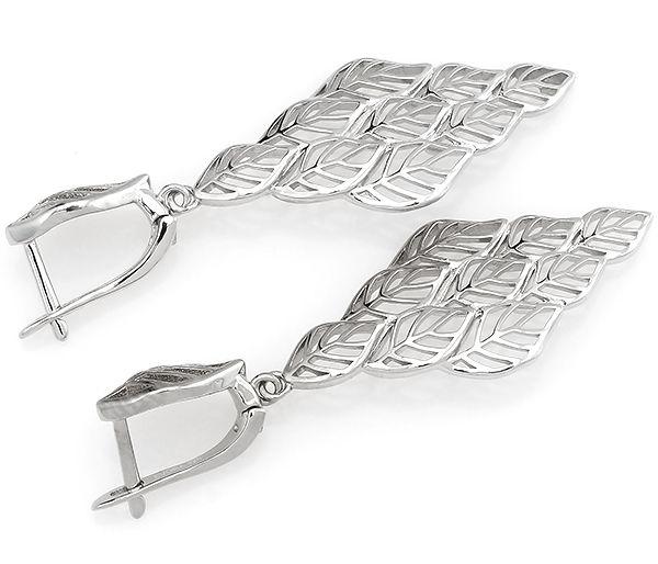 Серьги в серебре 925 пробы ‒ Mirserebra925.ru