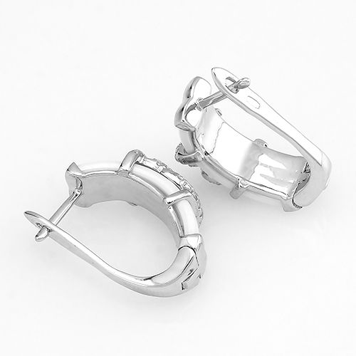 Серьги с керамикой из серебра 925 пробы – Mirserebra925.ru