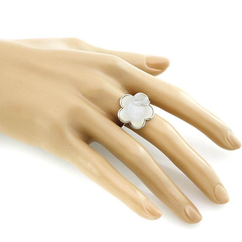 Кольцо с перламутром ‒ Mirserebra925.ru