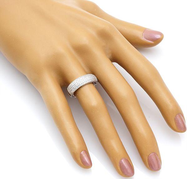 Кольцо с цирконом в серебре 925 пробы