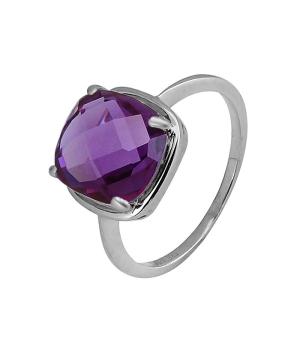 Серебряное кольцо с александритом ‒ Mirserebra925.ru