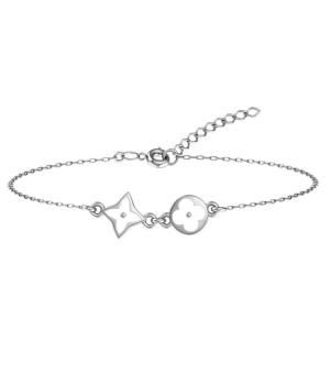 Серебряный браслет с эмалью – Mirserebra925.ru
