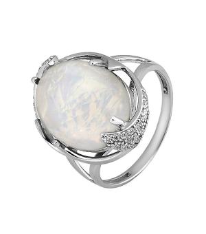 Серебряное кольцо с опалом – Mirserebra925.ru