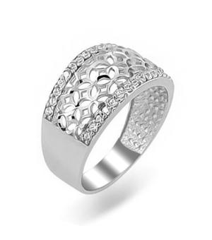 Серебряное кольцо без вставок ‒ Mirserebra925.ru