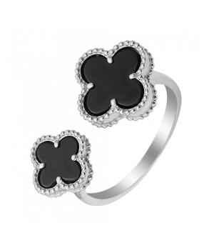Серебряное кольцо с ониксом – Mirserebra925.ru