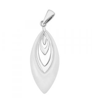 Серебряная подвеска с керамикой – Mirserebra925.ru