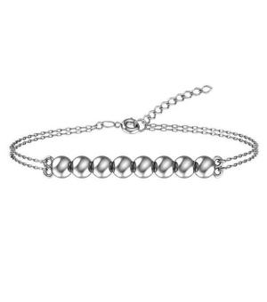 Серебряный браслет без камней – Mirserebra925.ru